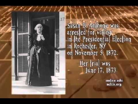 Susan B. Anthony: Advocate For Giving Women The Right To Vote