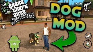 GTA SAN Andreas Android: GTA V Dog Mod !!
