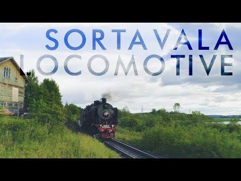 Sortavala locomotive | Карелия с квадрокоптера
