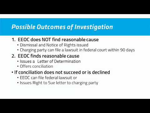 Tips for Undergoing an EEOC Investigation