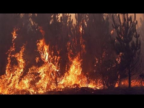 Drought-Dried Chile Struck by Dozens of Wildfires