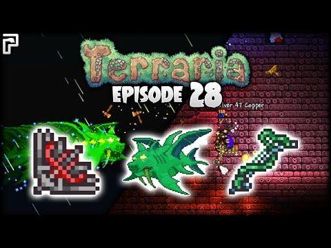 Terraria Vampire Knives & Duke Fishron! | Python's Realm (Terraria Let's Play) [S2 - Episode 28]