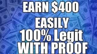 MAKE $400 PER MONTH EASILY | 100% LEGIT | WITH PROOF