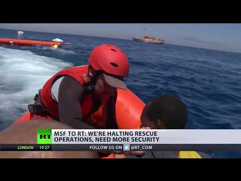 'We need more security': 3 NGOs suspend migrant rescues over 'threats' from Libya