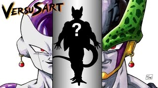 Drawing FRIEZELL : Frieza & Cell FUSION by Red Potaras | フリーザ  .  セ-ル  .  ポタラ | Dragon Ball Z