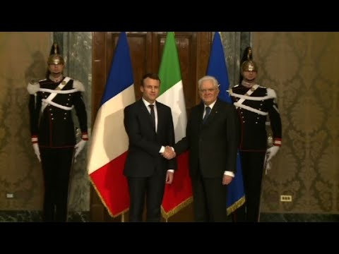 Macron in Italy to discuss migration, future of Europe