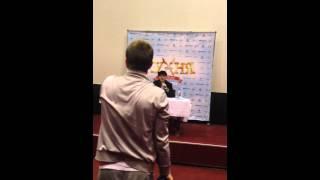 """""""Кухня в Париже"""" - пресс-конференция - Никита Тарасов"""