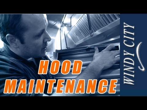 Exhaust Hood Maintenance Exhaust Hood Cleaning Tutorial DIY Windy City  Restaurant Equipment Parts