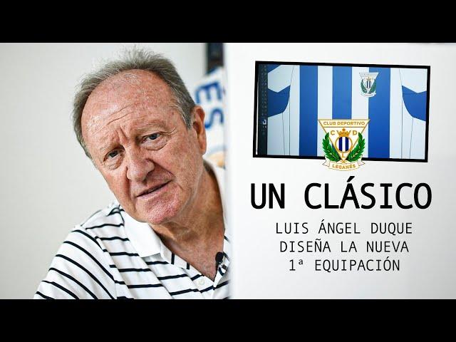 👕 Esta temporada, la primera equipación del C.D. Leganés será todo un clásico...