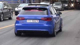 BEST OF AUDI RS3 8V SOUNDS! Launch Control, Revs, Accelerations!