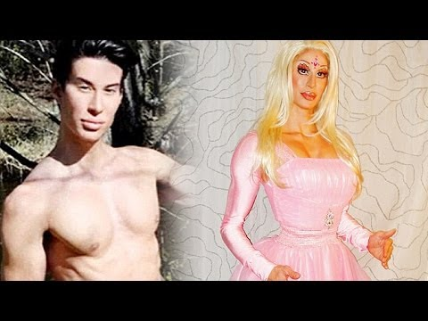 Human Ken Taunts Human Barbie By Dressing In Drag