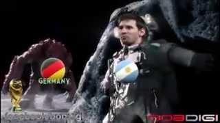 Germaniya vs Protugal ,Brazil ,France, Argentina in football
