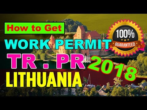 How To Get Lithuania Work Permit [Business Visa] [Visit Visa] Urdu 2018 BY PREMIER VISA CONSULTANCY