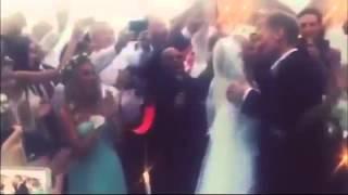 Дмитрий Песков и Татьяна Навка празнуют свадьбу