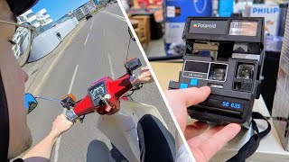 Retro Hunting & Motorcycle Riding | TRF Vlog 1
