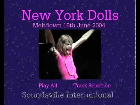 The New York Dolls - Meltdown Festival 16th June 2004