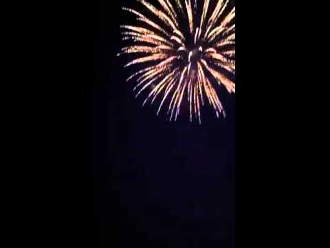 4th Of July; Fireworks, Flagler Beach, Florida
