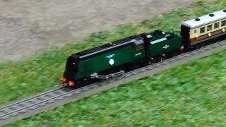 Lego Trains In The Garden 3