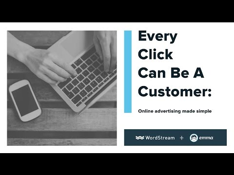 Every Click Can Be A Customer: Online Advertising Made Simple