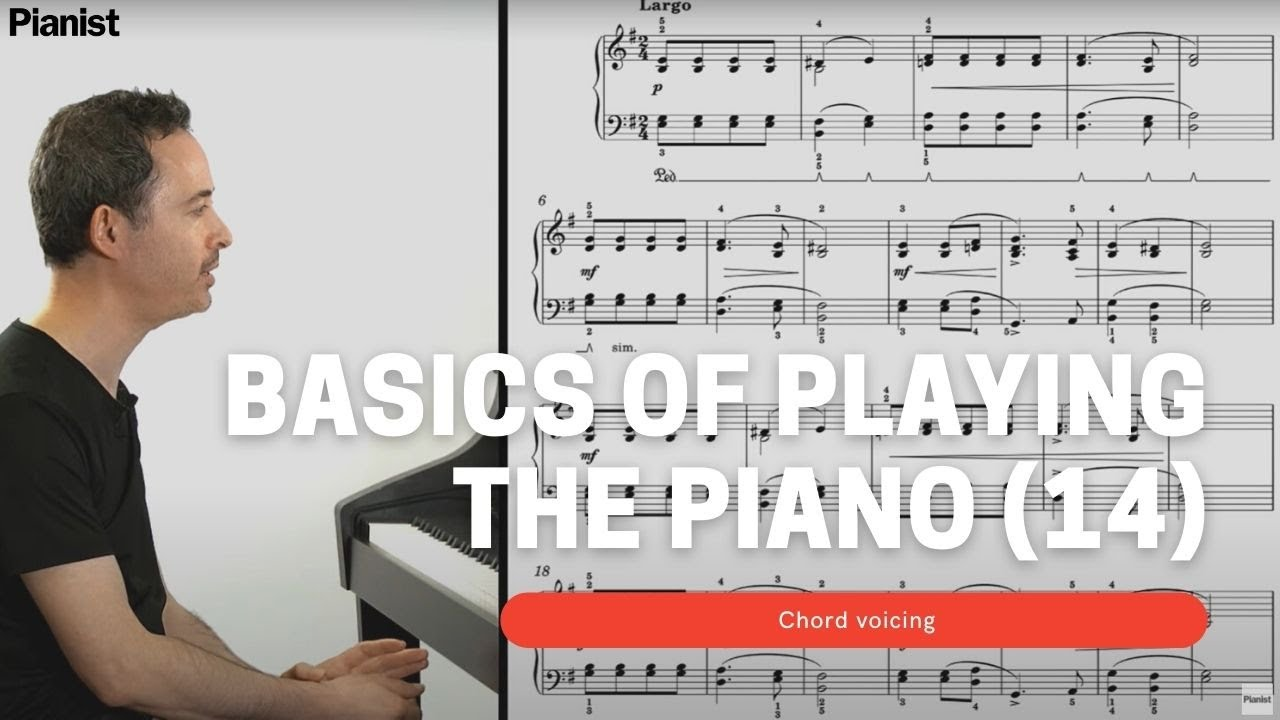 Basics of Playing Piano: Chord Voicing (14)