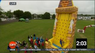 Video Airmax inflatables Obstacle Course in Aid of the Laura Lynn Foundation in Association with TV3 download MP3, 3GP, MP4, WEBM, AVI, FLV Oktober 2018
