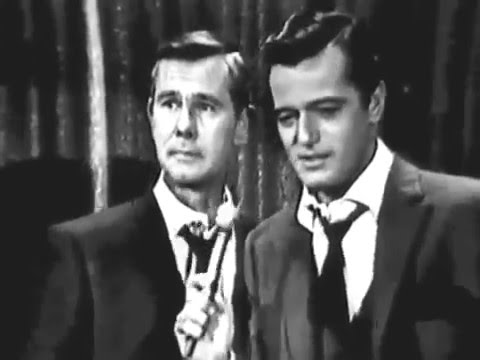 RARE: Johnny Carson SINGING on Tonight Show w/Robert Goulet Side by Side