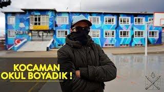 KOCAMAN OKUL BOYADIK ! // İzmir Graffiti Ekibi