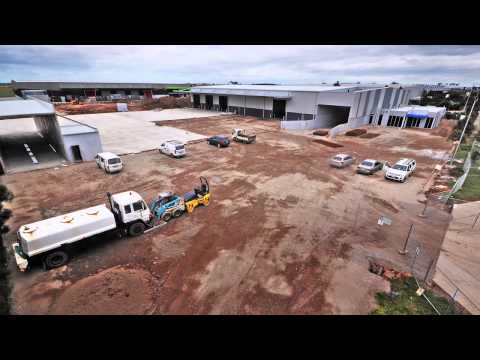 Texco Construction - Timelapse Of Industrial Construction Project For Sargeant Transport