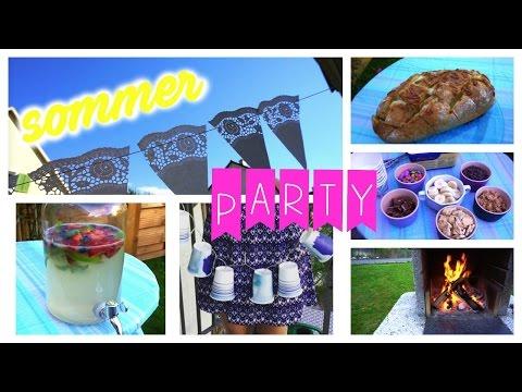 Sommer-/ Gartenparty (DIY's, Snack Ideen, Deko) ⎮weeklyMel