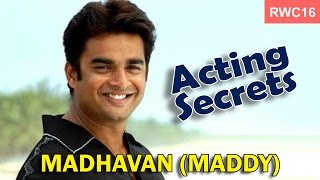 Secrets of acting and success in films - Madhavan (Maddy) at the RWC16