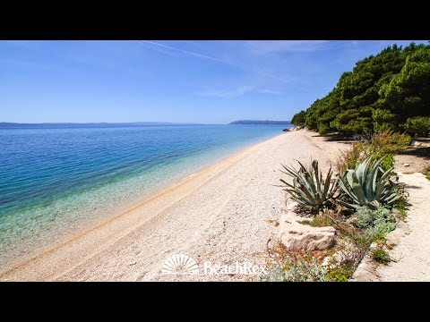 beach Jadran, Tučepi, Croatia