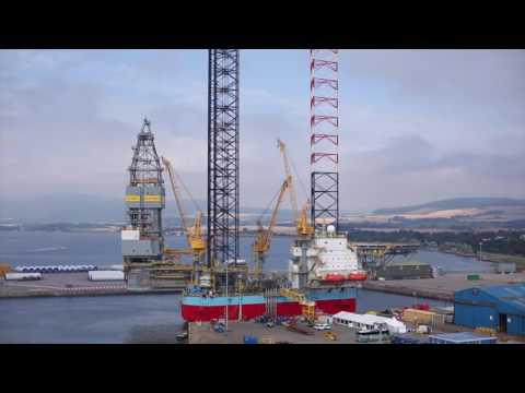 Port of Cromarty Firth - short update - May 2017