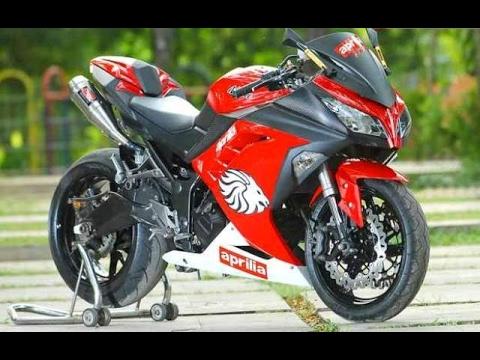 Modifikasi Ninja 250 Karbu Warna Merah Untouchable My Journey
