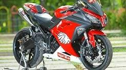 Video Modifikasi Motor Kawasaki Ninja 250 Keren Terbaru
