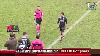 Serie D Girone D V.A.Sansepolcro-Sammaurese 1-2