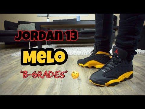 """Jordan 13 Melo """"B Grades"""""""