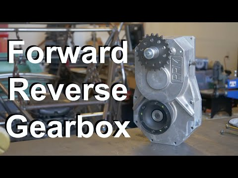 Chain Drive Forward Reverse Gearbox for Motorcyle Engine Powered Buggy