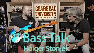 Bass Talk 05: Holger Stonjek from Sandberg at #TGU18