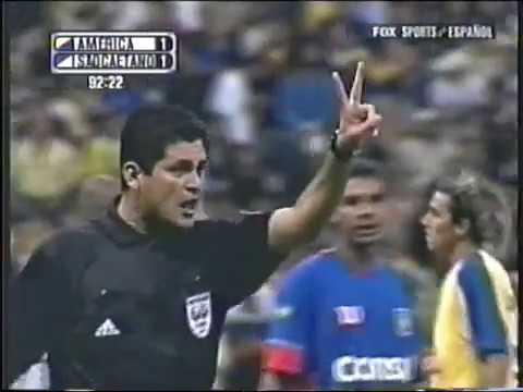 América de México vs Sao Caetano 2004 - Resumen Copa Libertadores.
