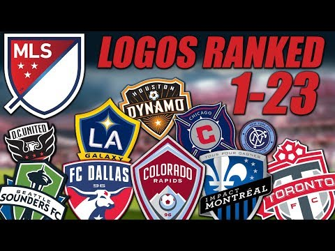 MLS Logos Ranked 1-23