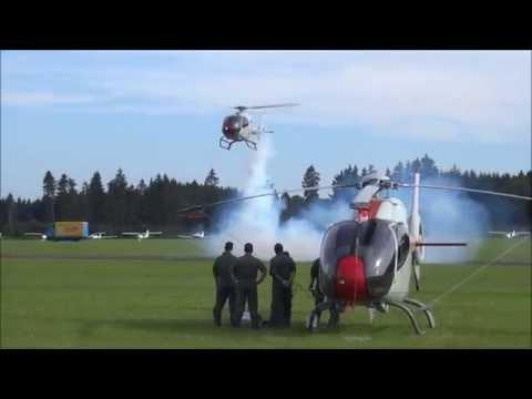 Patrulla Aspa EC-120 Colibri Team Formation Flying HD