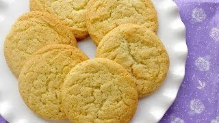 Soft & Chewy Lemon Cookies