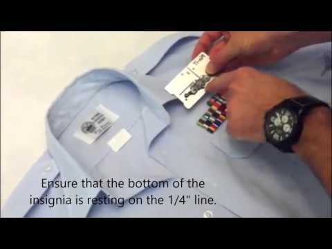 Pin-It  U.S. Coast Guard How To Put Your Uniform Shirt Together In Under 10 Minutes.