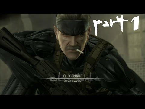 Metal Gear Solid 4 Прохождение