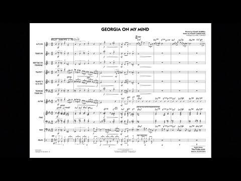 Georgia On My Mind arranged by Mike Tomaro