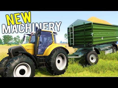NEW HEAVY EQUIPMENT + PICK UP TRUCK! 100k HARVEST PAYS FOR NEW MACHINES - Farmer's Dynasty Gameplay