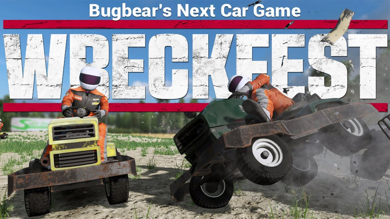 Next Car Game Wreckfest Lawn Mower Demolition Derby