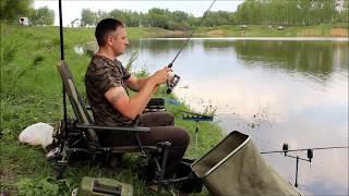 Рыбалка на флет метод фидер.