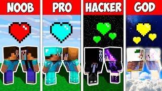 Minecraft NOOB vs PRO vs HACKER vs GOD : FAMILY BABY LIFE STORY in Minecraft
