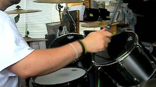 arch enemy - leader of the rats (drum cover)